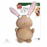 GiGwi игрушка для собак кролик с писшалками