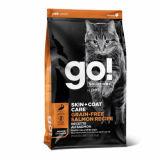 GO! Cat Solutions Skin+Coat Care All Life Stages Grain Free с лососем
