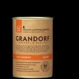 Grandorf Adult All Breeds консервы с гусем и индейкой, 400 гр