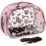 Ibiyaya прозрачная/розовая дизайн сердечки