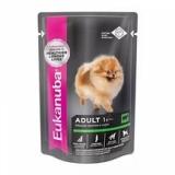 EUK Dog паучи для собак с говядиной в соусе