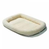 MidWest лежанка Pet Bed флисовая  белая