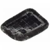 MidWest лежанка Pet Bed меховая сероя