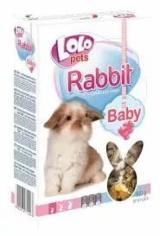 LO-полнорационный корм для кроликов в возрасте до 3 месяцев