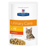 Hills Prescription Diet Feline c/d Multicare с курицей 85г
