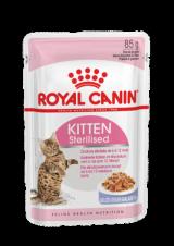 Royal Canin Pouch Kitten Sterilised в желе 85г