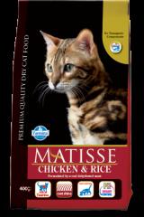 Matisse Adult Cat с курицей и рисом