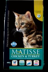 Matisse Adult Cat с курицей и индейкой