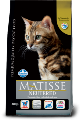 Matisse Adult Cat Neutered с курицей и рисом