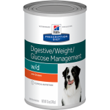 Hill's Prescription Diet Canine w/d 370г