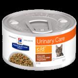 Hill's Prescription Diet c/d Feline рагу с курицей и овощами 82 гр