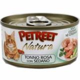 PETREET NATURA Розовый тунец с сельдереем
