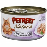 PETREET NATURA  Petreet Куриная грудка с креветками