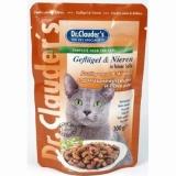 Dr.Clauder's с домашней птицей и почками для кошек