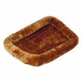 MidWest лежанка Pet Bed меховая коричневая