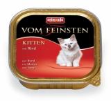 VOM FEINSTEN KITTEN  консервы с говядиной для котят