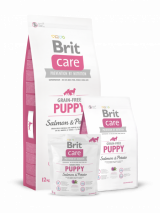 Brit Care Grain-free Puppy Salmon&Potato для щенков всех пород