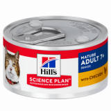Hill's Science Plan Feline Mature Adult 7+ курица 85г