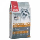 Blitz Classic Adult Chicken & Rice с курицей и рисом