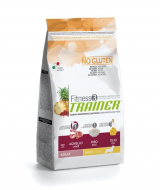 Trainer Fitness3 No Gluten Mini Adult с ягнёнком и рисом