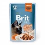 Brit Premium Кусочки из филе индейки в соусе