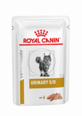 Royal Canin Veterinary Diet Pouch Urinary S/O Feline паштет, 85 гр Назад