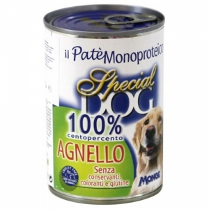 Special Dog паштет из 100% мяса ягненка